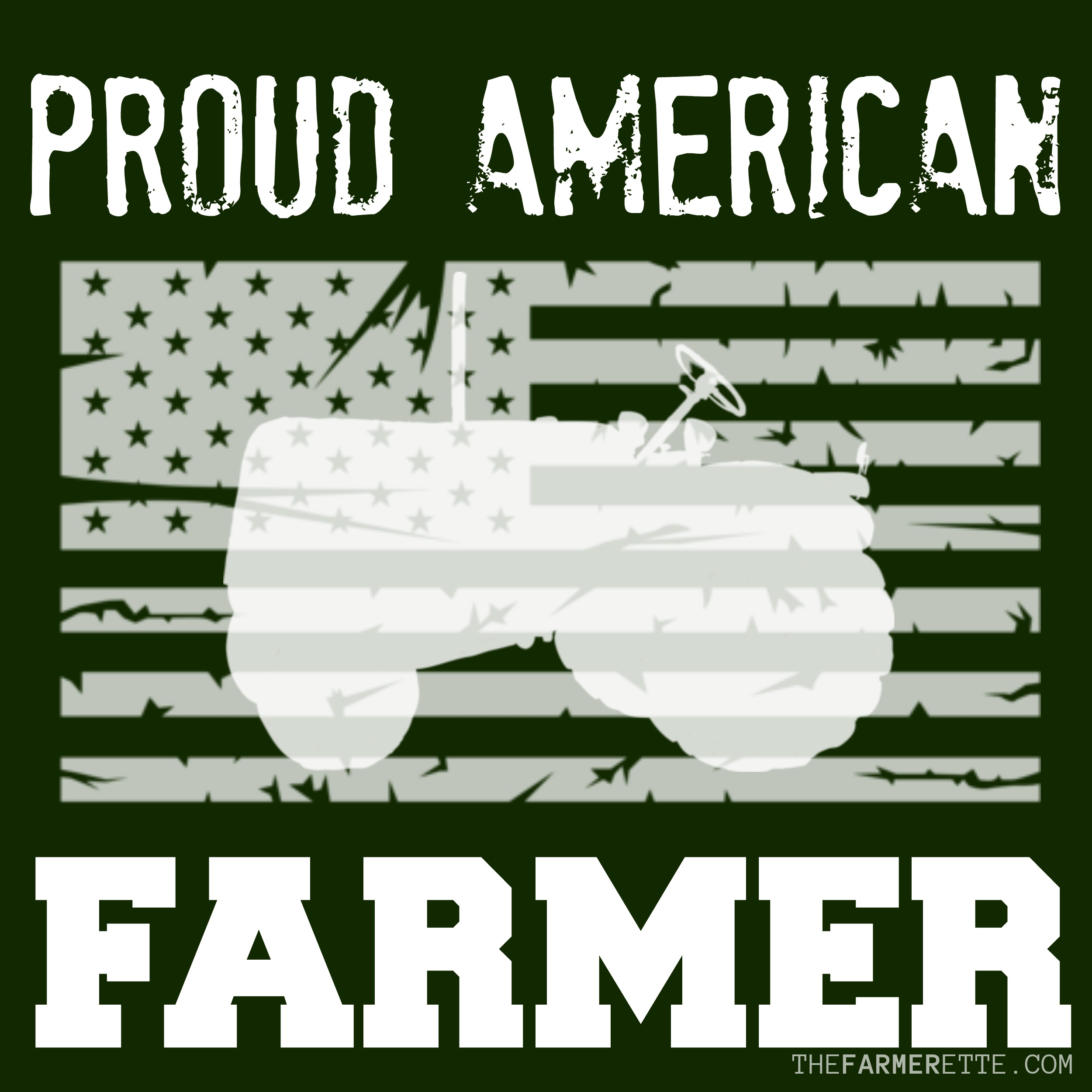proud american farmer